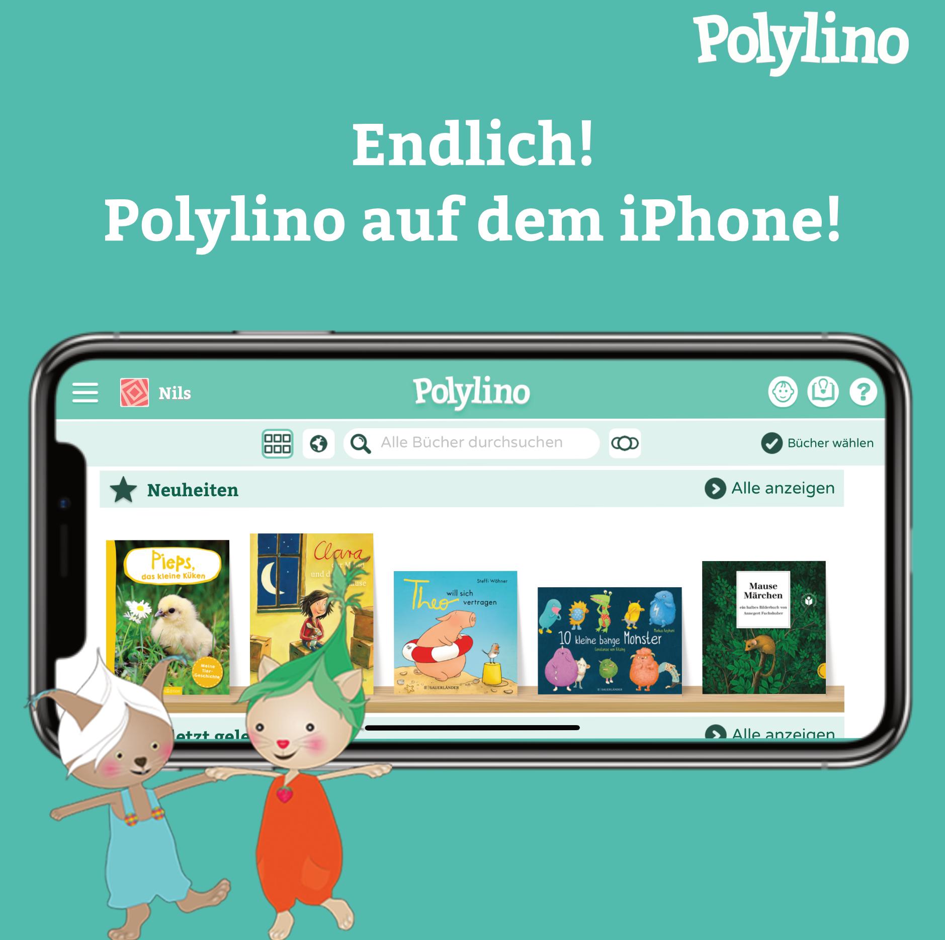 Polylino ab sofort auch auf dem iPhone verfügbar!