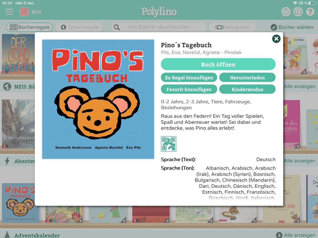 Pino's Tagebuch bei Polylino!