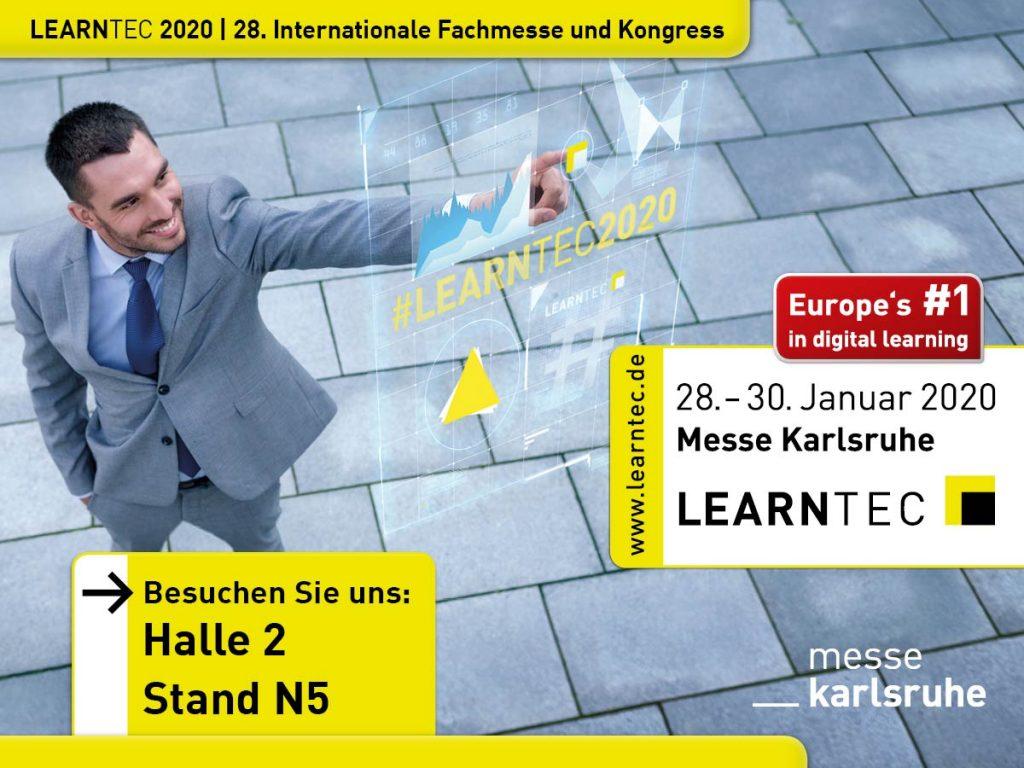 Polylino auf der LEARNTEC in Karlsruhe: Halle 2, Stand N5