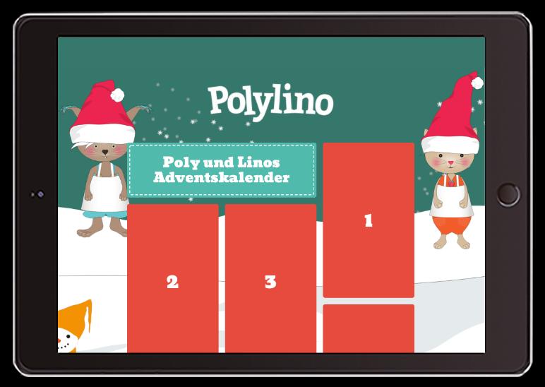 Der Polylino Adventskalender!
